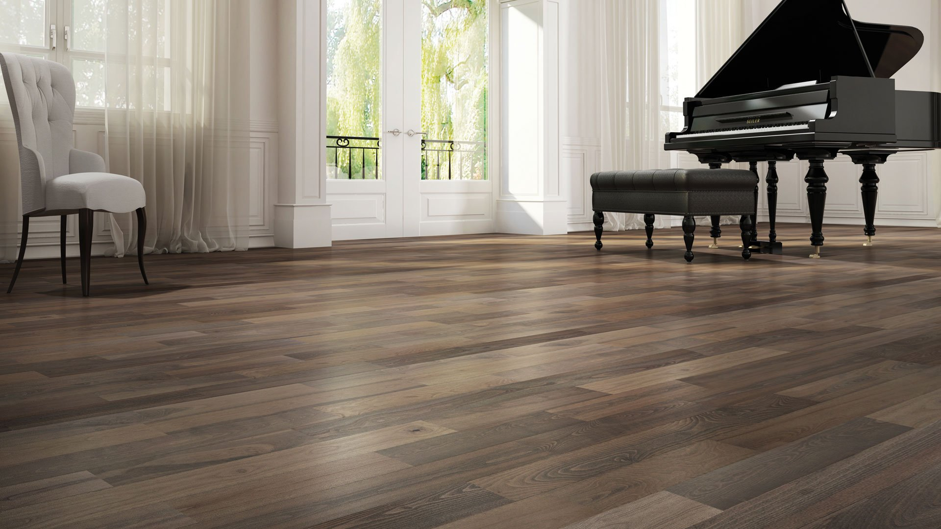 Hardwood Plank Flooring
